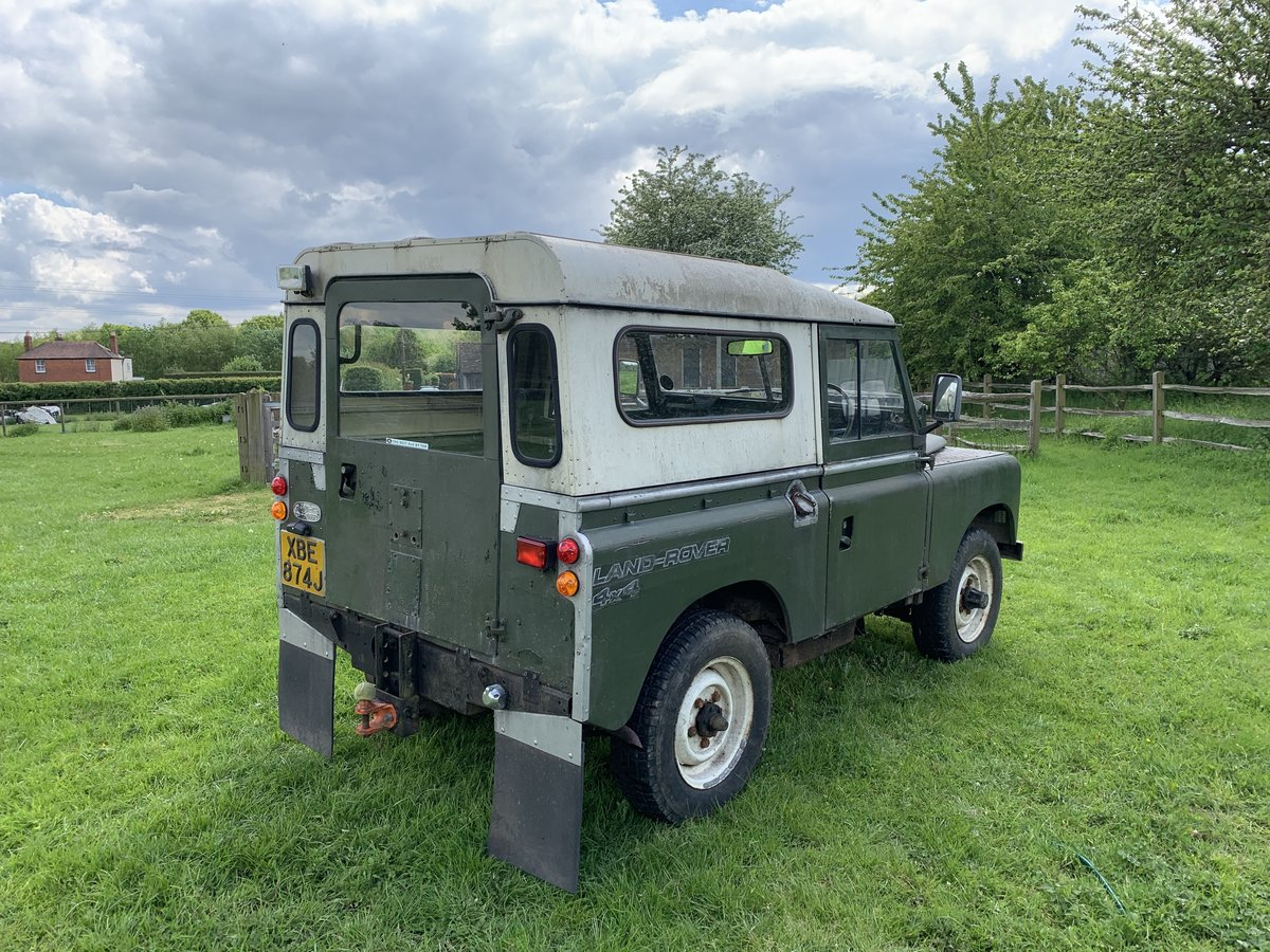 1971 Land Rover Series 2A (late model) For Sale (picture 2 of 6)