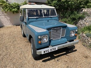 Land Rover Petrol SWB S3 1982  REFURBISHED For Sale