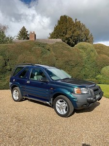 1999 Land Rover Freelander 50th Anniversary