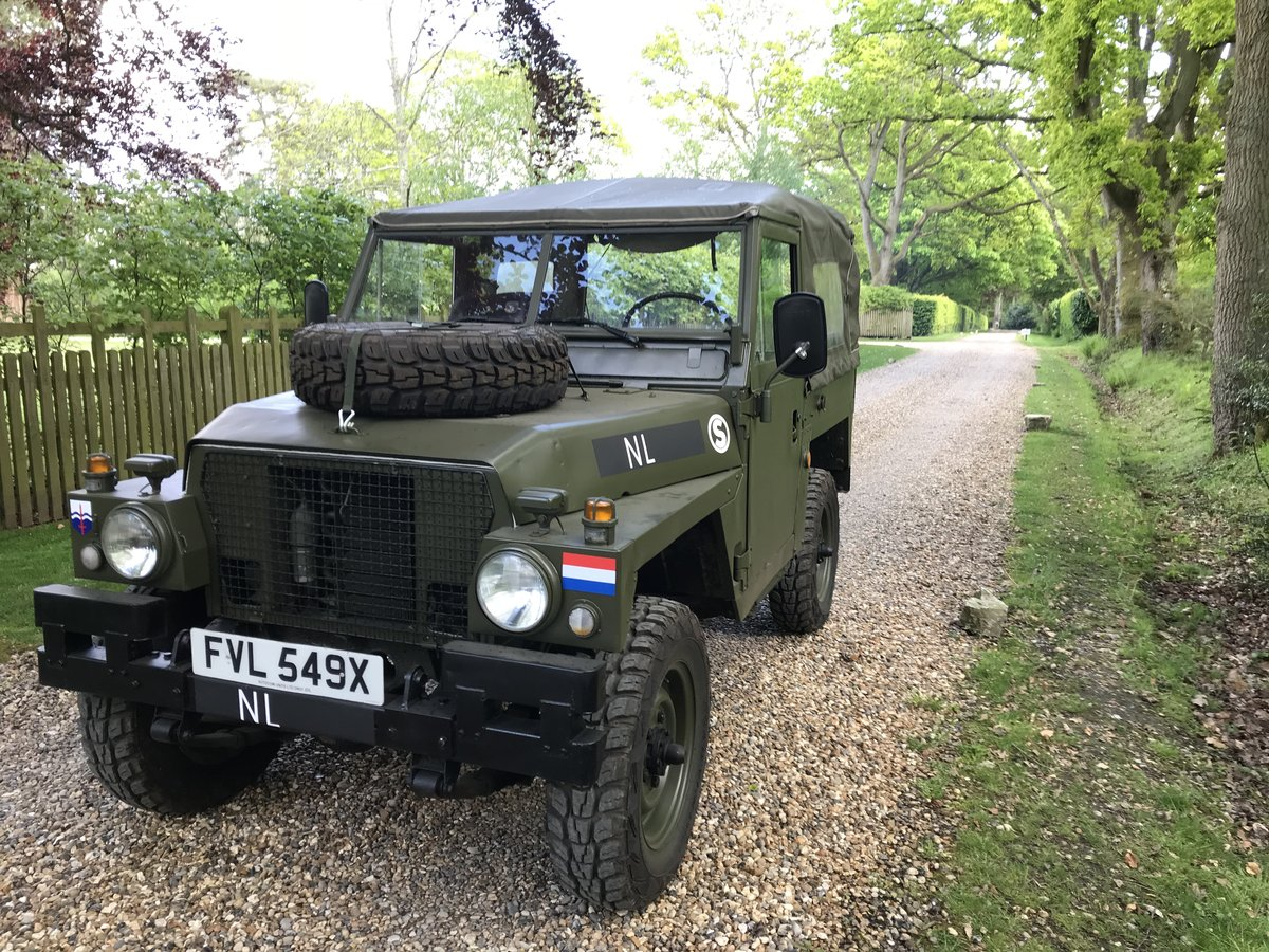 1982 Land Rover Lightweight Dutch Variant LHD For Sale (picture 1 of 6)