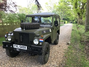 1982 Land Rover Lightweight Dutch Variant LHD For Sale