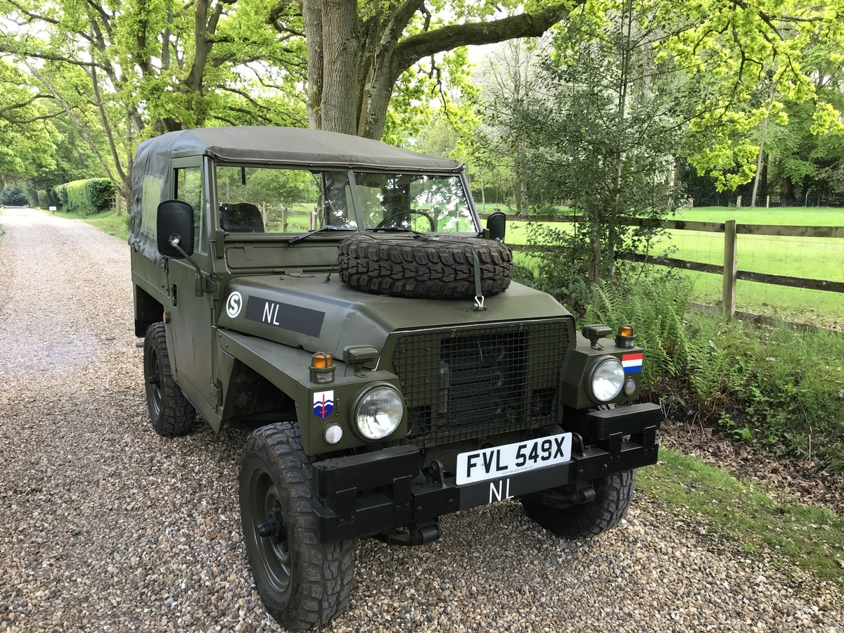 1982 Land Rover Lightweight Dutch Variant LHD For Sale (picture 2 of 6)