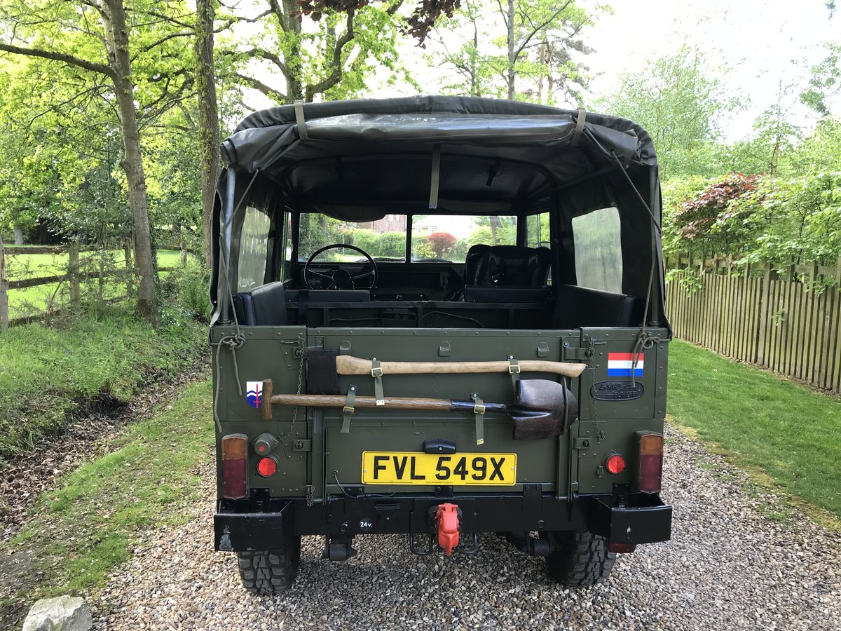 1982 Land Rover Lightweight Dutch Variant LHD For Sale (picture 3 of 6)
