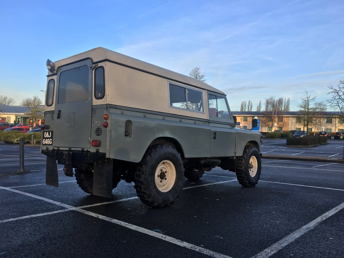 1968 Land Rover Series 2A Fully Restored 3.9 V8 For Sale (picture 1 of 6)