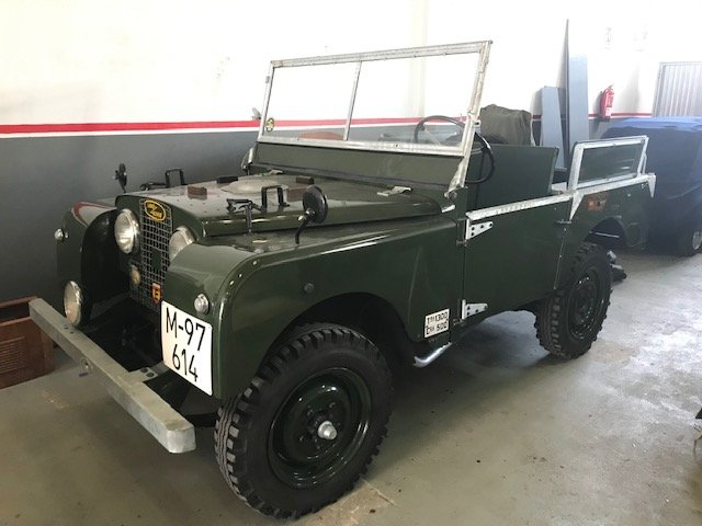 1952 LHD Land Rover Series 1 80