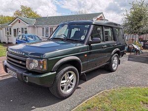 2002 Land Rover Discovery 2 TD5 Low Millage, New MOT,
