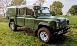 1997 Defender 130 Double Cab Pick Up Turbo Diesel 300 For Sale