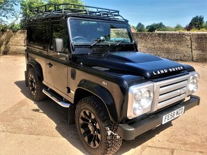 2008 superb 08/58 Defender 90 SVX station wagon 60th anniversary