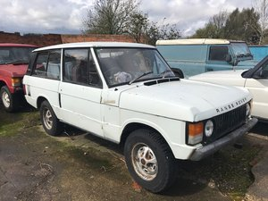 1975 2 x 1970's Range Rover 2 Door Projects SOLD