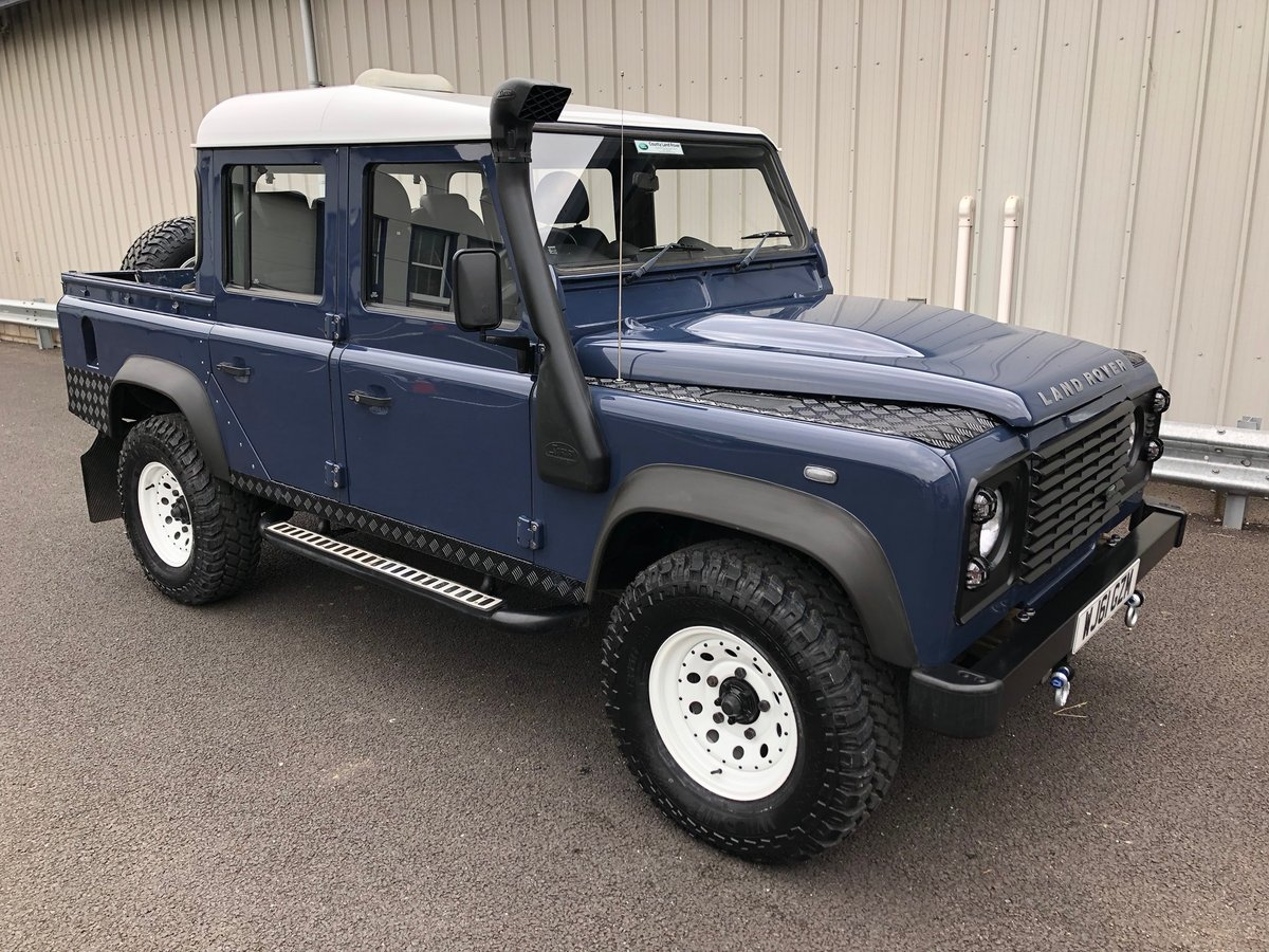 2011 61 LAND ROVER DEFENDER 2.4 TDCI 110 UTILITY DOUBLE CAB  For Sale (picture 1 of 6)