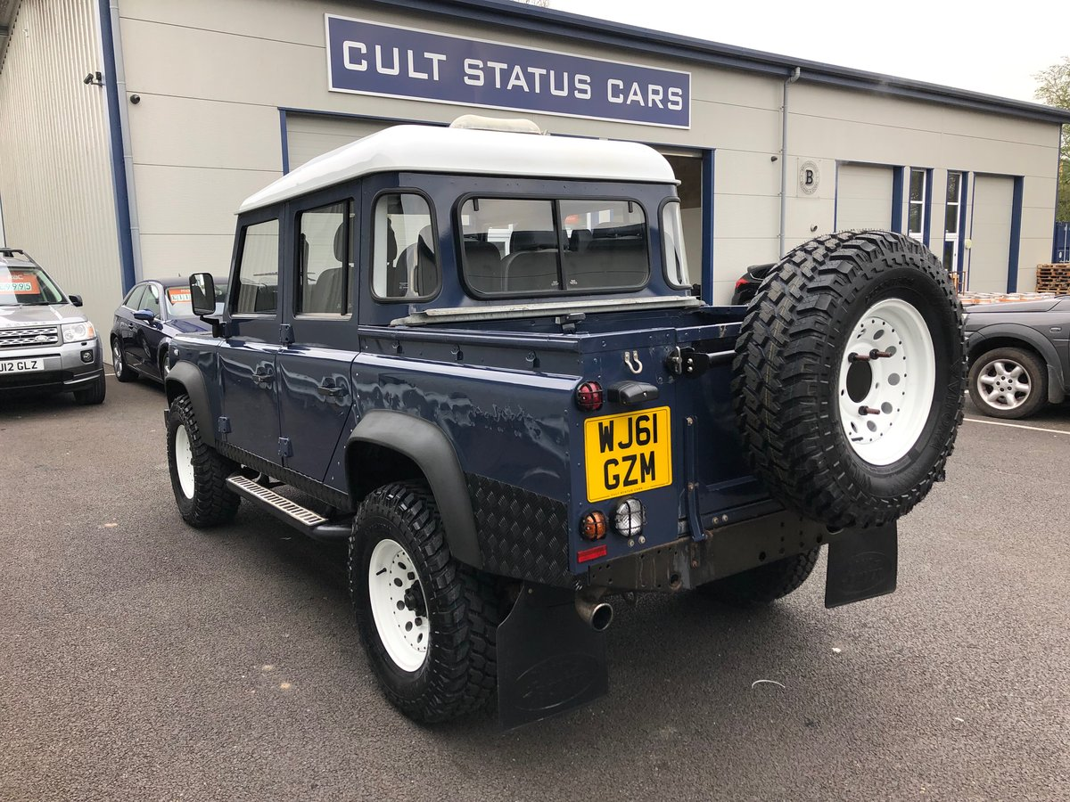 2011 61 LAND ROVER DEFENDER 2.4 TDCI 110 UTILITY DOUBLE CAB  For Sale (picture 4 of 6)