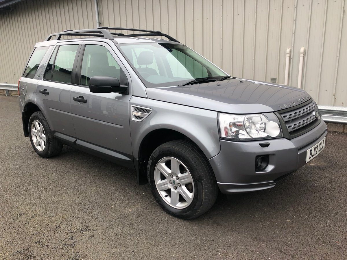 2012 12 LAND ROVER FREELANDER 2.2 TD4 GS 5D AUTO 150 BHP For Sale (picture 1 of 6)