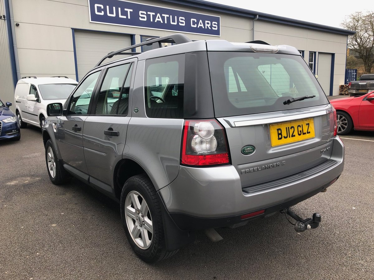 2012 12 LAND ROVER FREELANDER 2.2 TD4 GS 5D AUTO 150 BHP For Sale (picture 4 of 6)