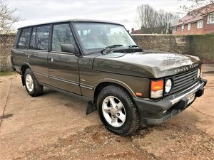 Picture of stunning looking 1994 range rover classic 4.2LSE softdash SOLD