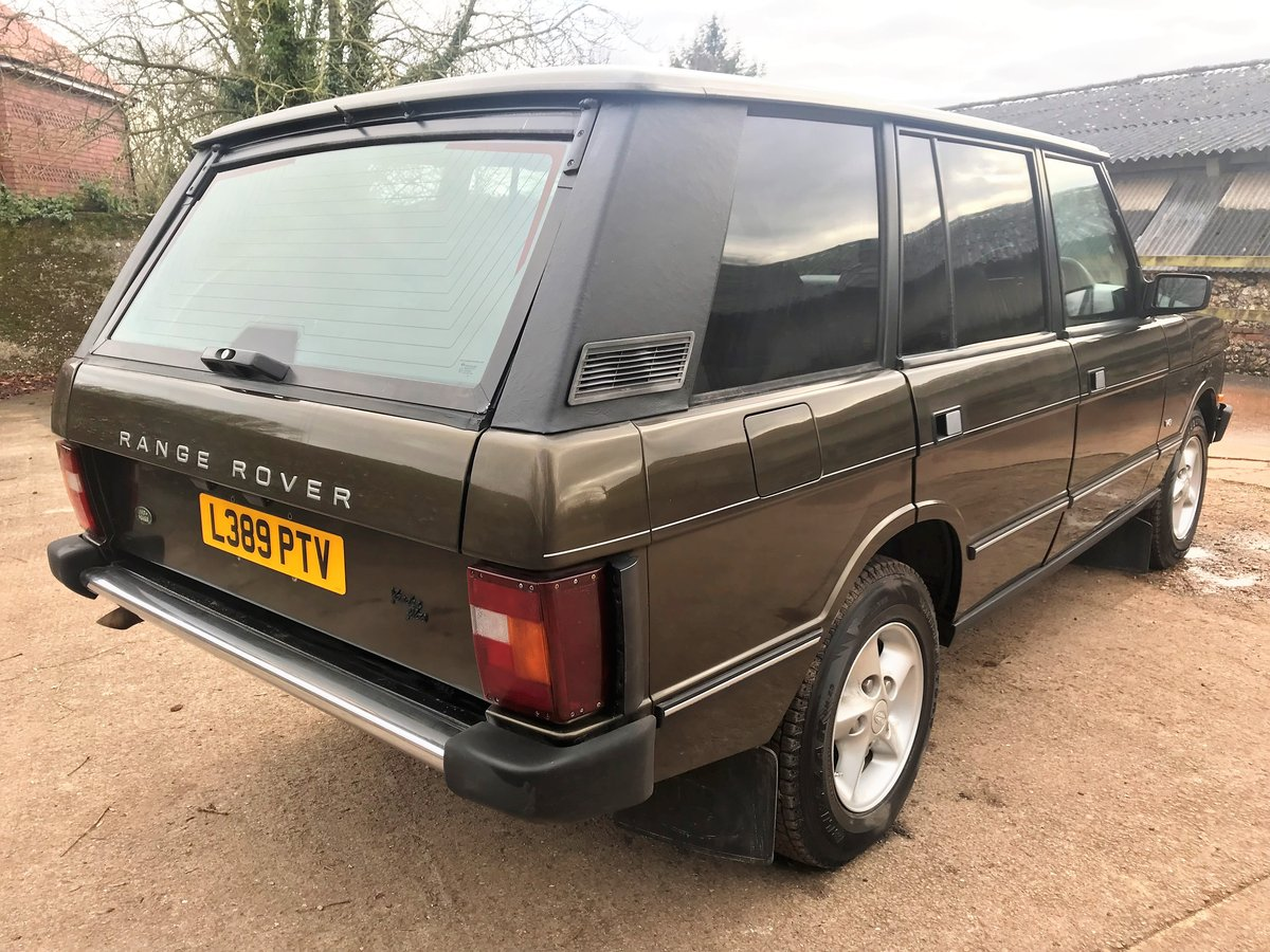 stunning looking 1994 range rover classic 4.2LSE softdash SOLD (picture 6 of 6)