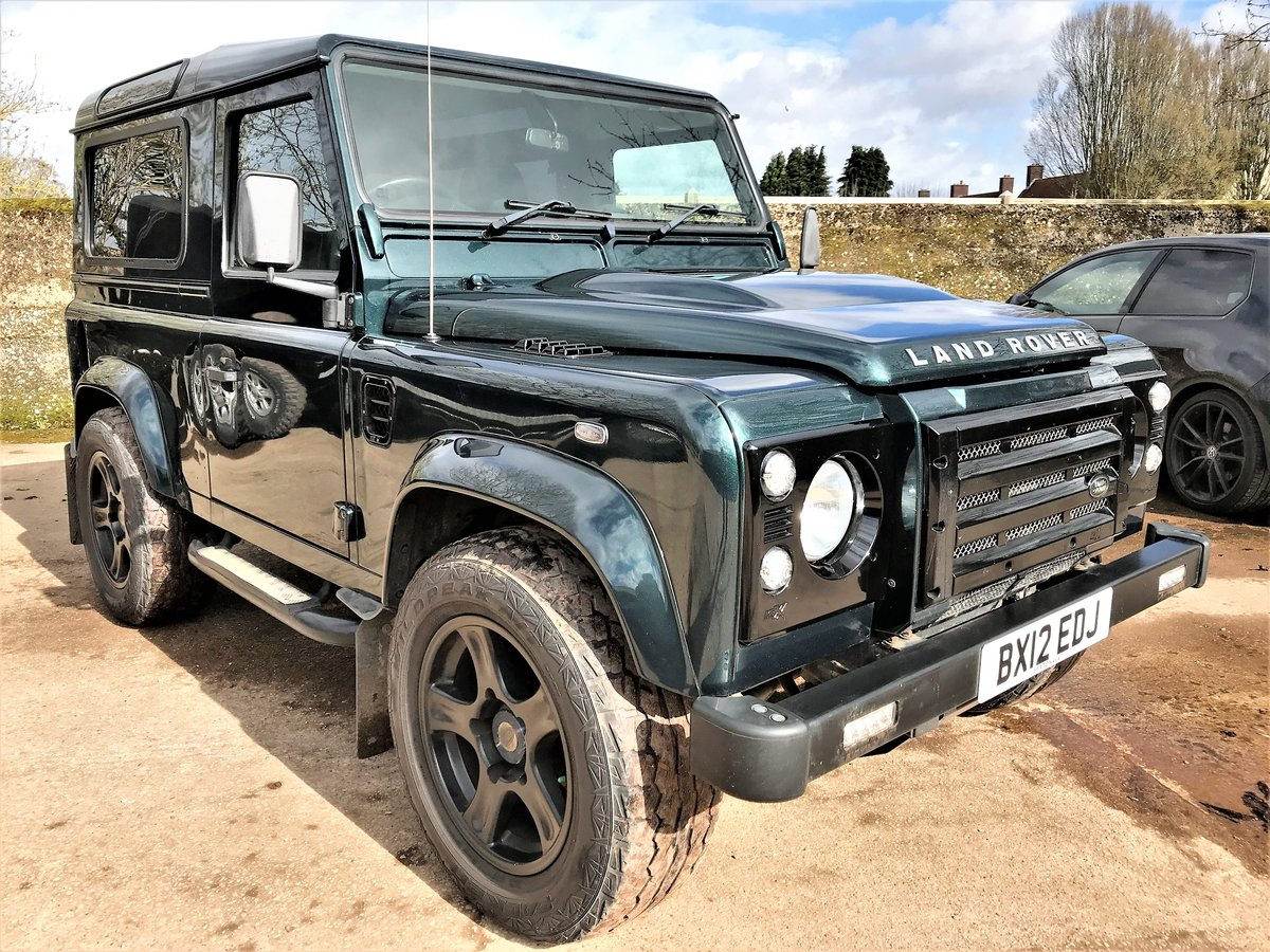 2012 defender 90 2.2TDCi station wagon+fast road upgrades For Sale (picture 1 of 6)