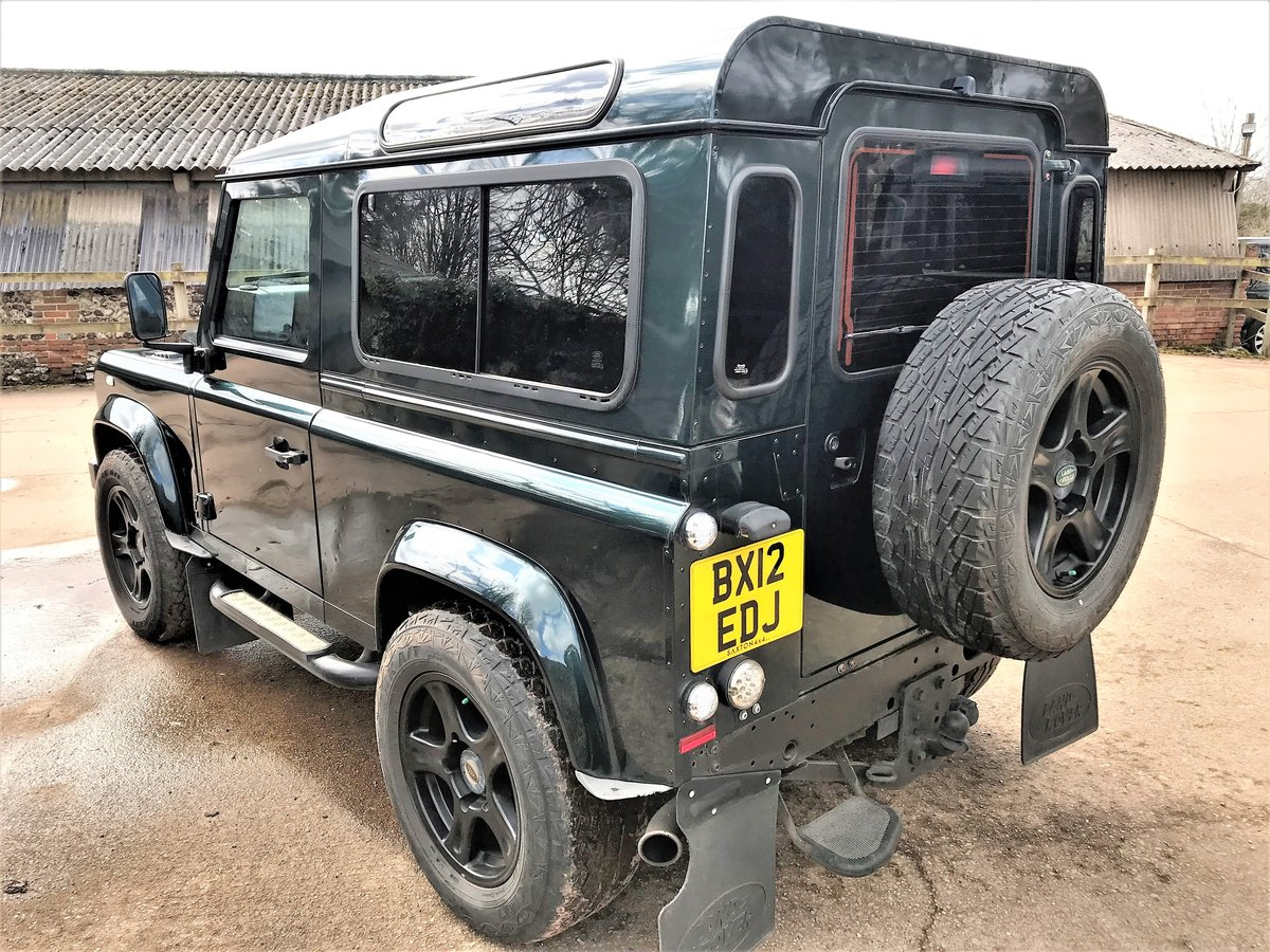 2012 defender 90 2.2TDCi station wagon+fast road upgrades For Sale (picture 4 of 6)