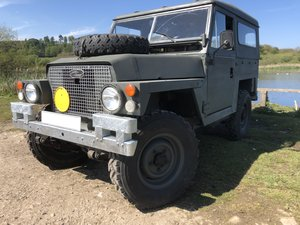 1979 Lightweight Land Rover, 200Tdi, Galvanised chassis