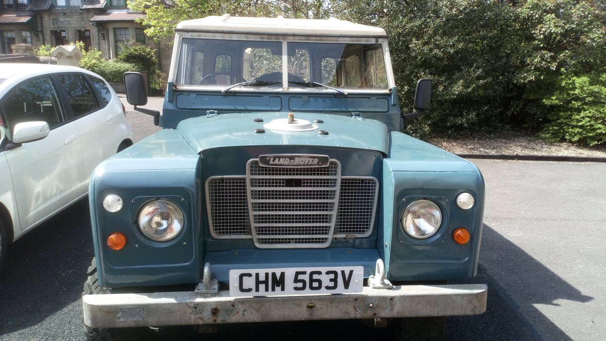 1979 Series 3 SWB 88 rebuilt on galvanised chassis For Sale (picture 1 of 6)