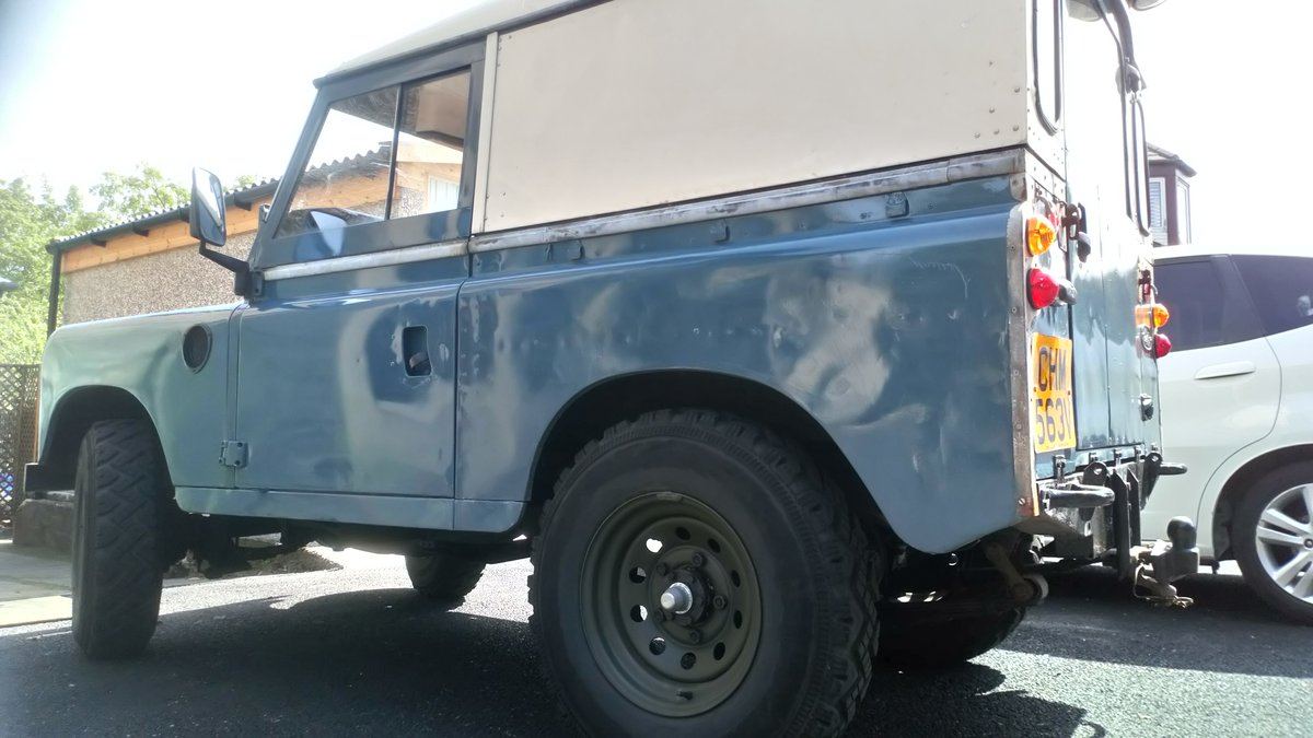 1979 Series 3 SWB 88 rebuilt on galvanised chassis For Sale (picture 4 of 6)