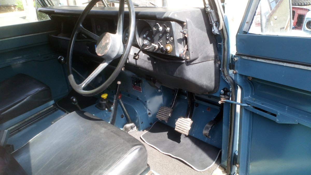 1979 Series 3 SWB 88 rebuilt on galvanised chassis For Sale (picture 5 of 6)