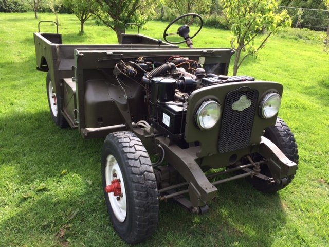 7950 Rare Early Minerva with Land Rover Chassis and Bulkhead For Sale (picture 1 of 6)