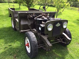 7950 Rare Early Minerva with Land Rover Chassis and Bulkhead