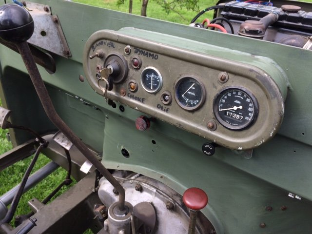7950 Rare Early Minerva with Land Rover Chassis and Bulkhead For Sale (picture 2 of 6)