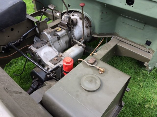 7950 Rare Early Minerva with Land Rover Chassis and Bulkhead For Sale (picture 4 of 6)