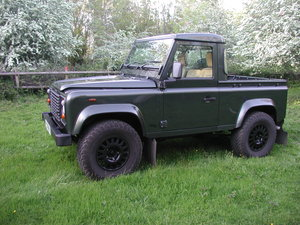 2005 LANDROVER DEFENDER 90 2.5 TD5 COUNTY PICK UP 36K