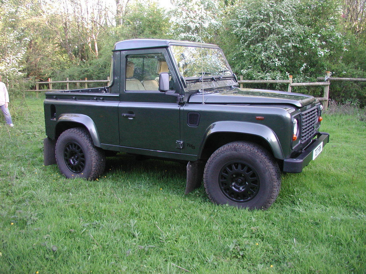 2005 LANDROVER DEFENDER 90 2.5 TD5 COUNTY PICK UP 36K  For Sale (picture 2 of 6)