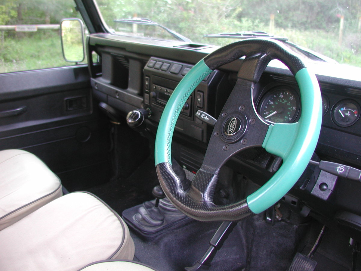 2005 LANDROVER DEFENDER 90 2.5 TD5 COUNTY PICK UP 36K  For Sale (picture 4 of 6)