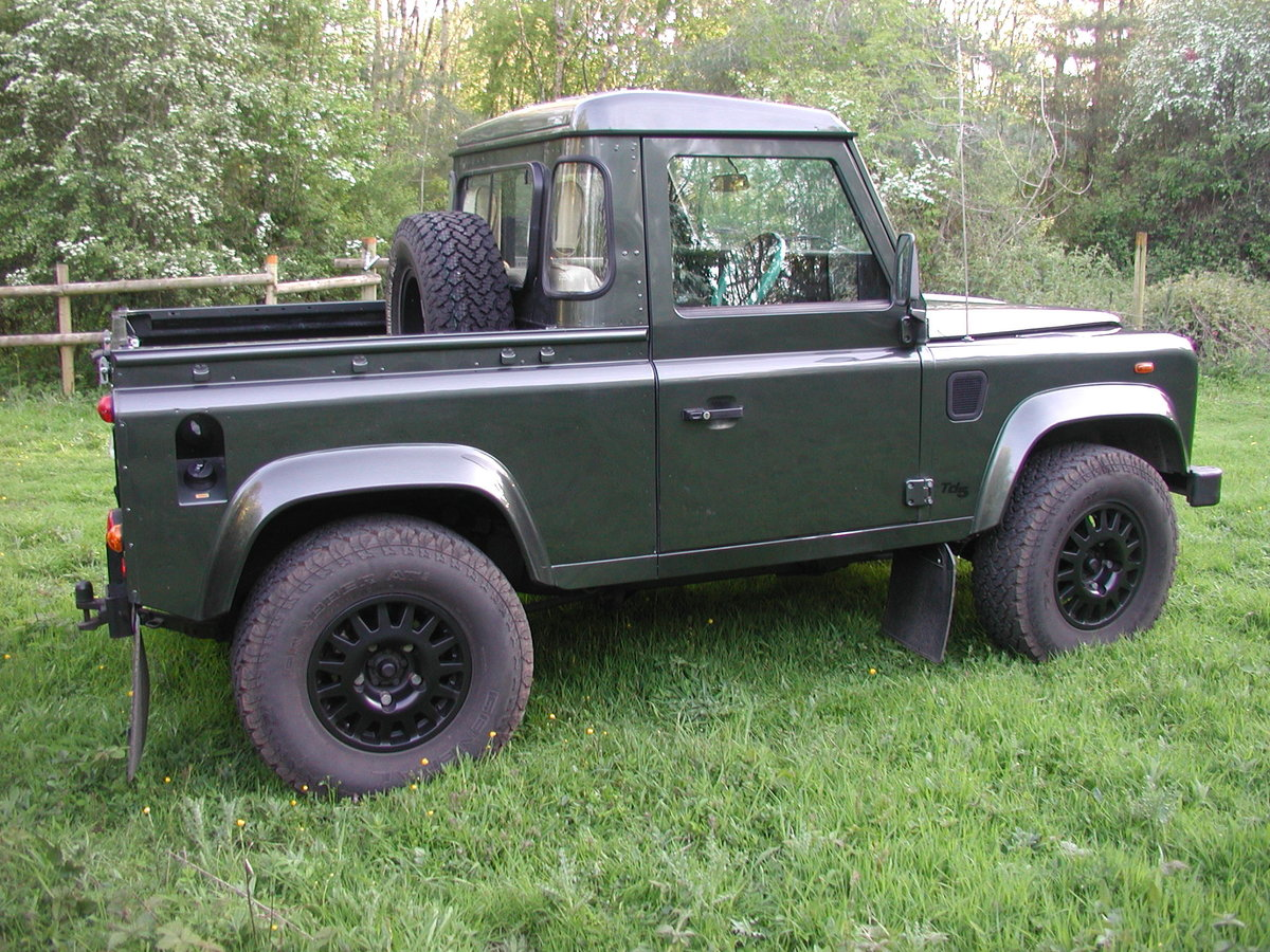 2005 LANDROVER DEFENDER 90 2.5 TD5 COUNTY PICK UP 36K  For Sale (picture 6 of 6)