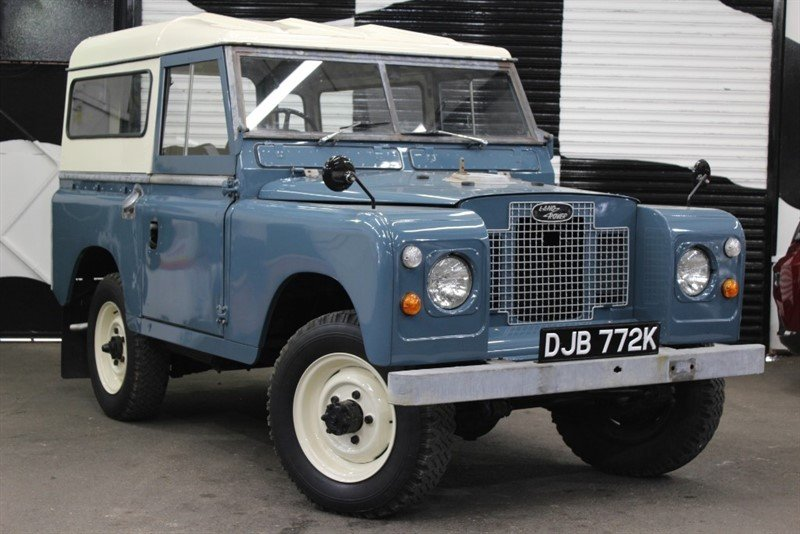 1971 LAND ROVER SERIES IIA or 2A For Sale (picture 1 of 6)