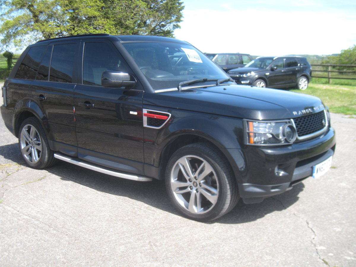 2012 Range Rover Sport HSE SDV6 A RED EDITION For Sale (picture 1 of 6)
