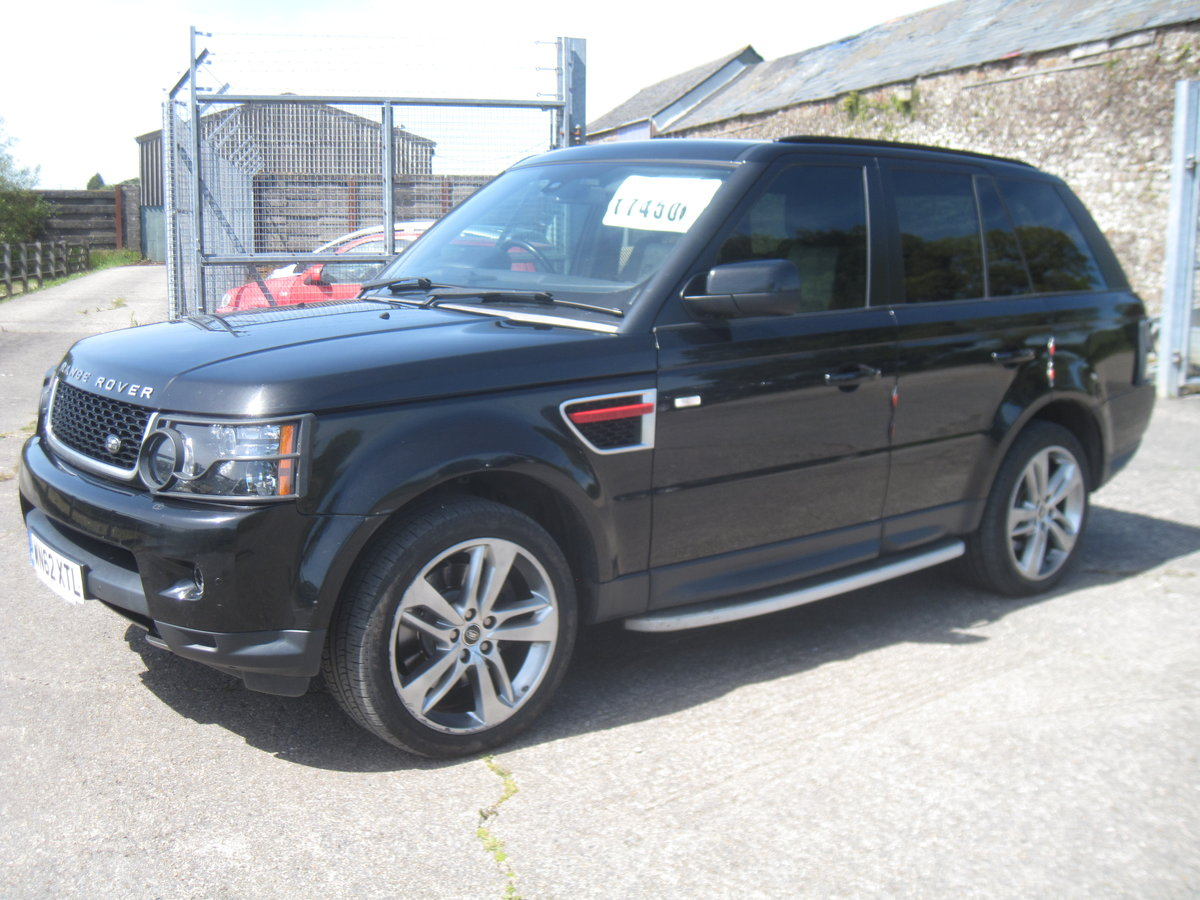 2012 Range Rover Sport HSE SDV6 A RED EDITION For Sale (picture 2 of 6)