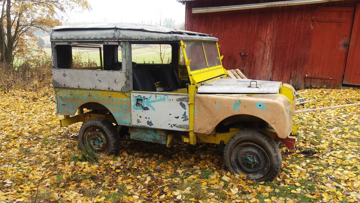 Land Rover Series 1953 STW with safari roof For Sale (picture 1 of 3)