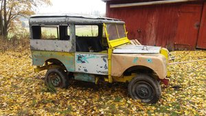 Land Rover Series 1953 STW with safari roof For Sale