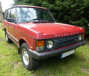 1990 RANGE ROVER CLASSIC DIESEL 200 TDI MANUAL 5 SPEED LT77 For Sale