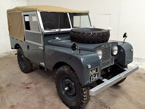 1954 Landrover Series 1 For Sale