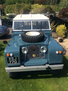 1961 Land Rover Series 2a 2.0 tdi