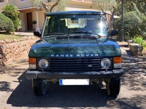 1990 LHD - Range Rover 3.9L EFi - manual transmission For Sale