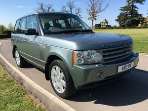 2007 Land Rover Range Rover 3.6 TD V8 Vogue ONE OWNER