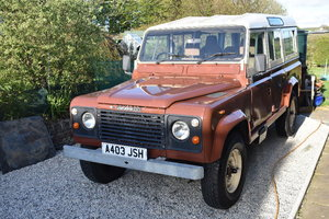 A 1983 Land Rover 110 County V8 - 23/06/2019 For Sale by Auction