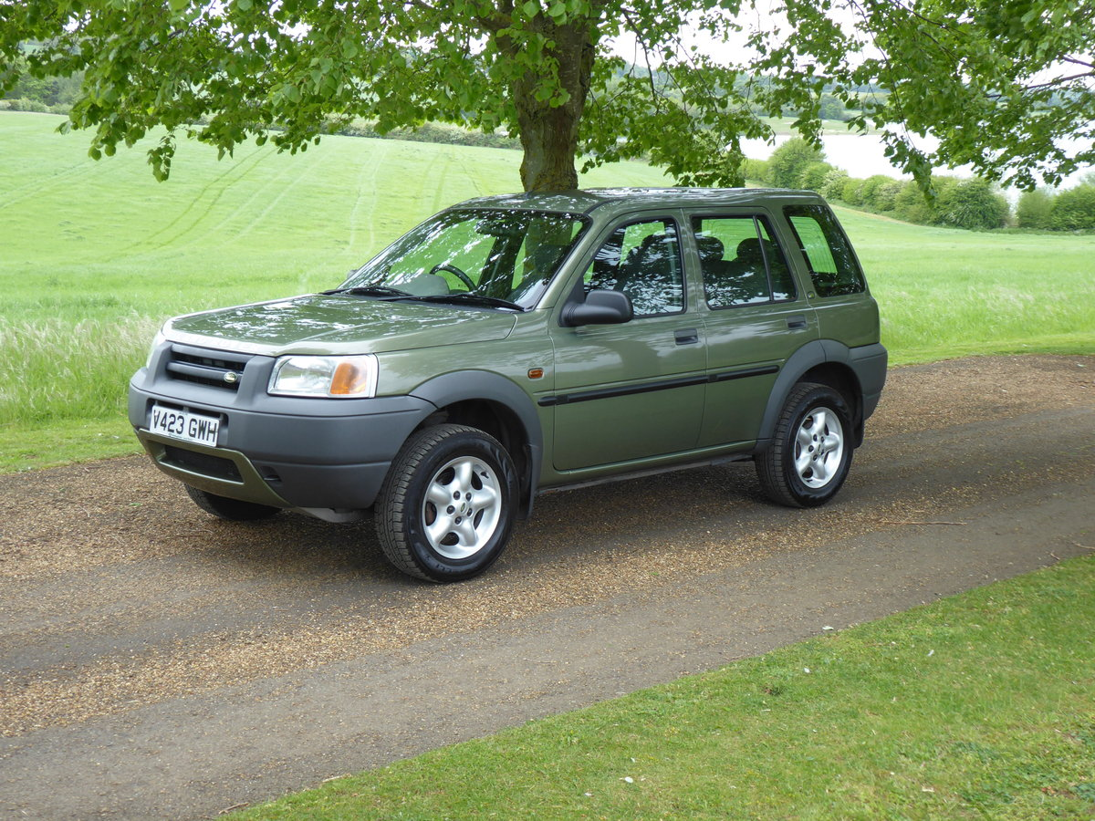 2000 Land Rover Freelander MK1 64000 mls Immaculate Diesel FSH For Sale (picture 1 of 6)