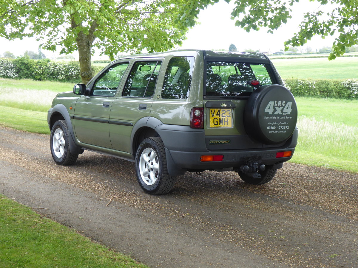 2000 Land Rover Freelander MK1 64000 mls Immaculate Diesel FSH For Sale (picture 2 of 6)
