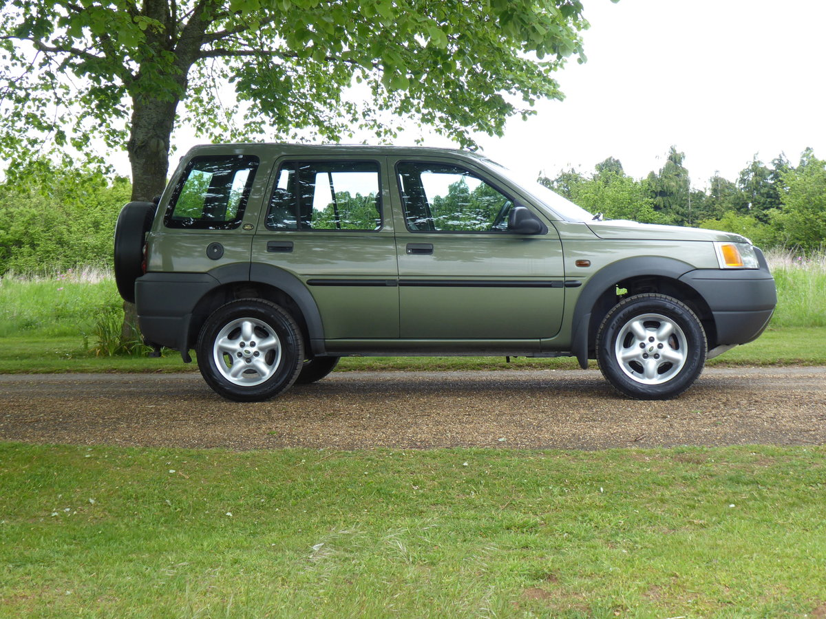 2000 Land Rover Freelander MK1 64000 mls Immaculate Diesel FSH For Sale (picture 4 of 6)