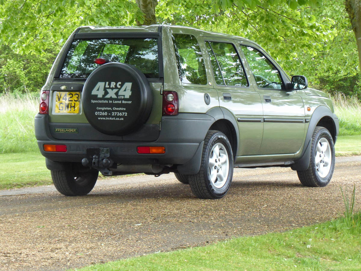 2000 Land Rover Freelander MK1 64000 mls Immaculate Diesel FSH For Sale (picture 5 of 6)