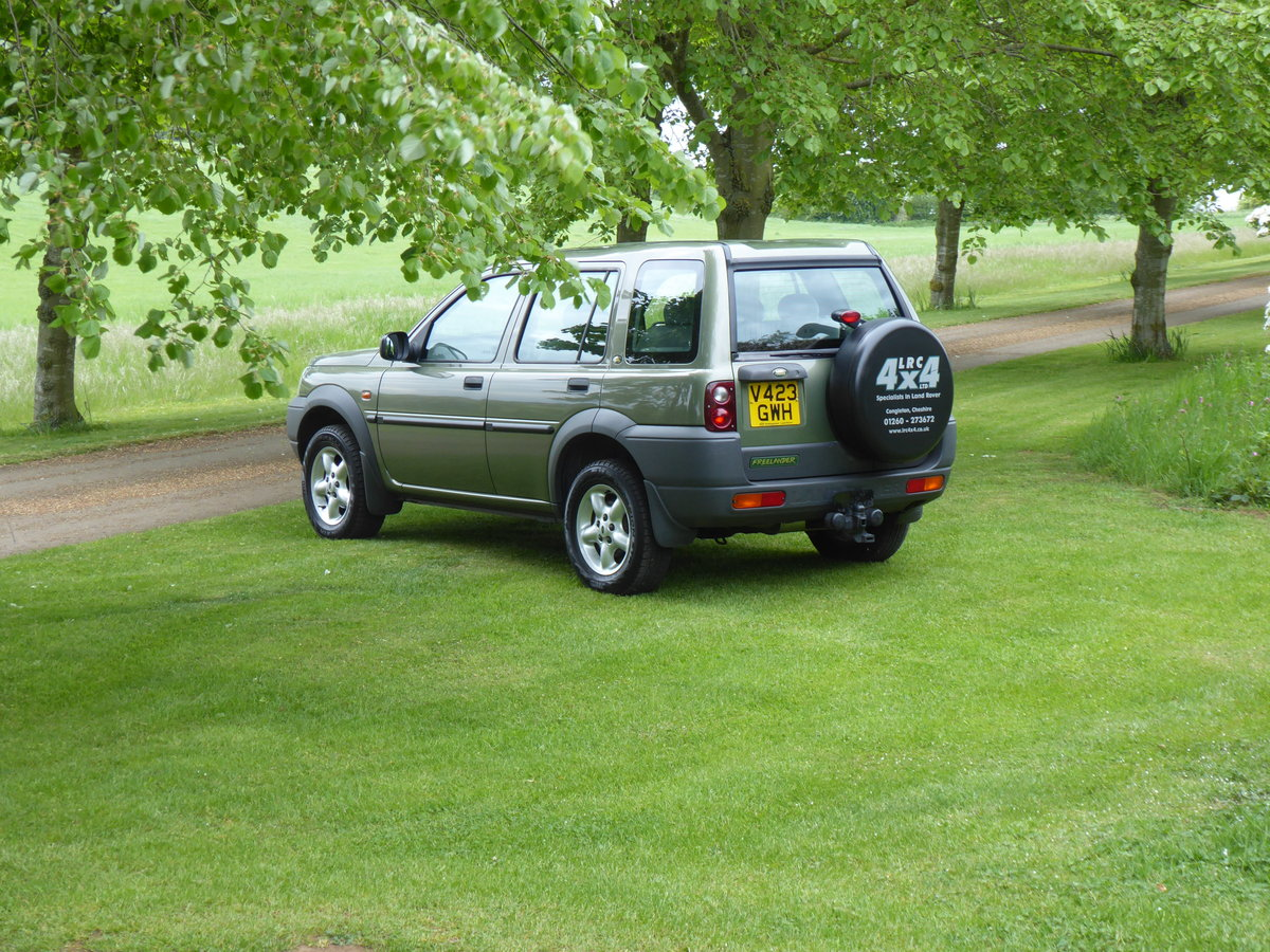 2000 Land Rover Freelander MK1 64000 mls Immaculate Diesel FSH For Sale (picture 6 of 6)