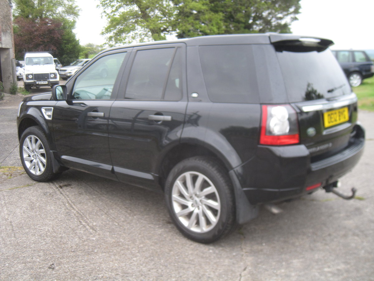 2012 Freelander 2 HSE SD4 Auto For Sale (picture 3 of 6)